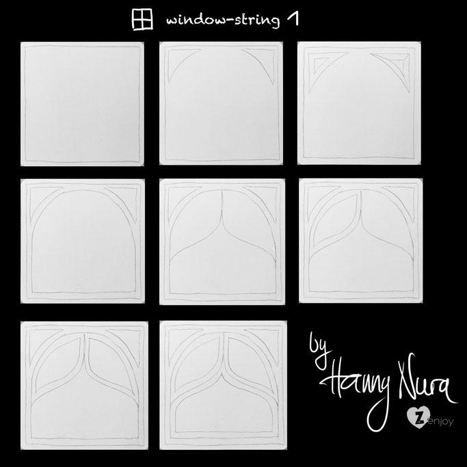 window-string 1  by hanny nura