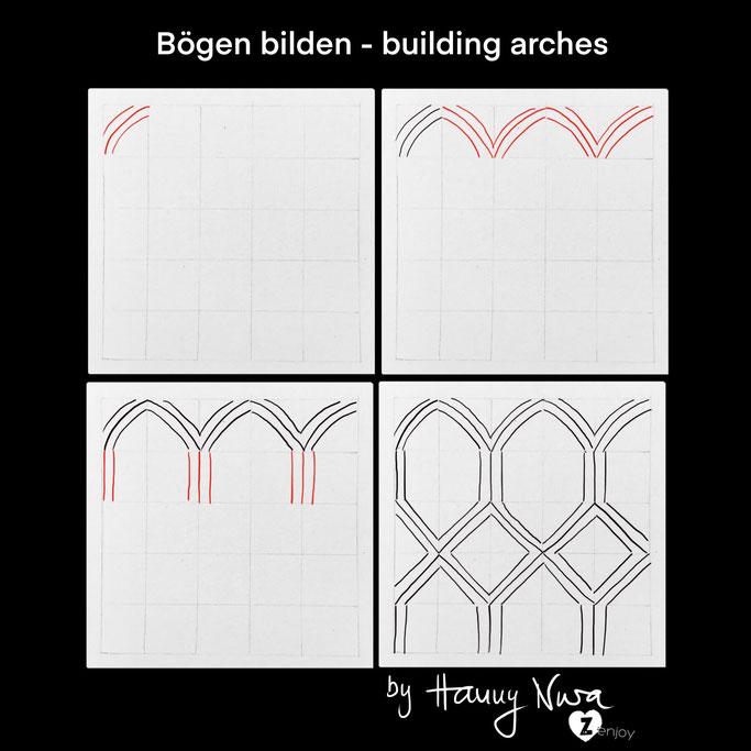 building arches by Hanny Nura