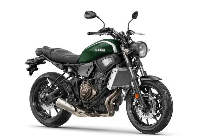 Yamaha XSR 700, permis A2