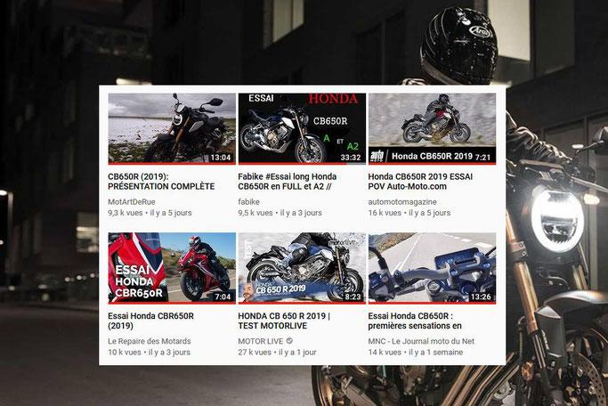 Les WebTV pour tout savoir des nouveautés moto 2019