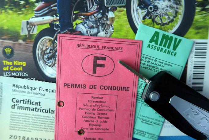 Les motos du permis A2