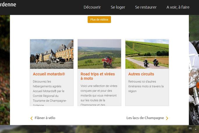 Des virées moto en Champagne-Ardenne