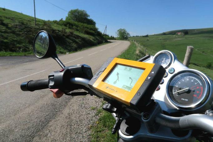 GPS Tripy, pour la rando loisir à moto ou en voiture