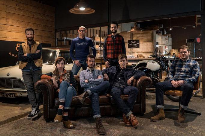 L'équipe de BAAK Motocyclettes