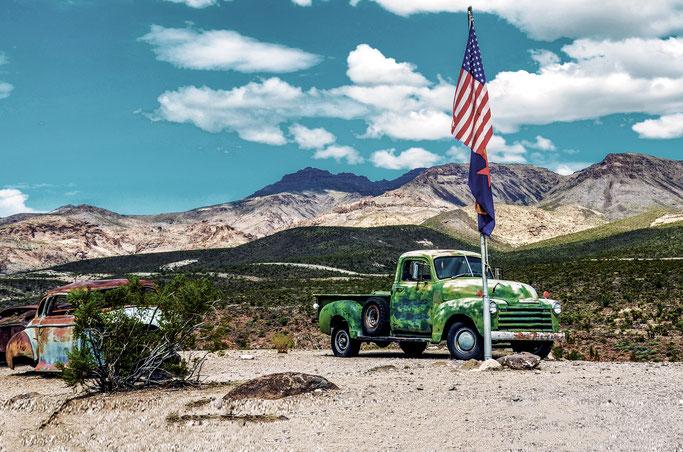 Amerikanisches altes Auto