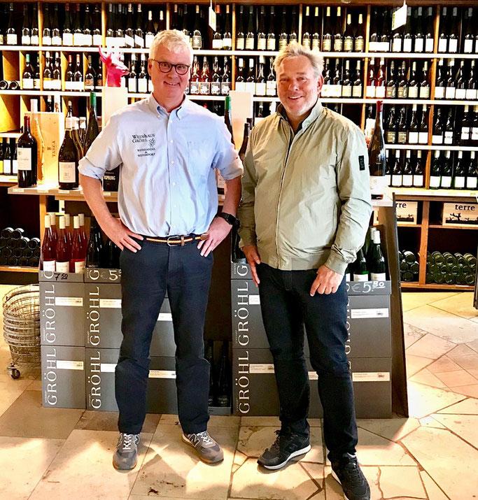 Holger Bracker (Weinhaus Gröhl) - Über den Chemieunterricht auf den Wein gekommen