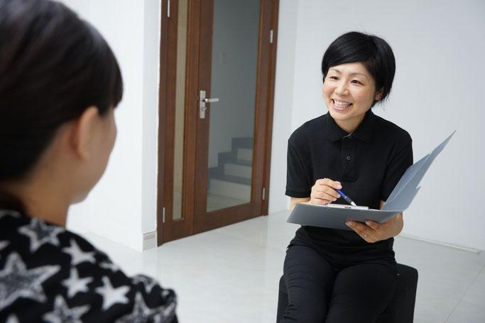 Reflepathy Uchida 安心 日本人スタッフ 対応