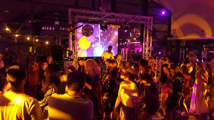 Sonorisation, éclairage et vidéo pour une Bar Mitzvah