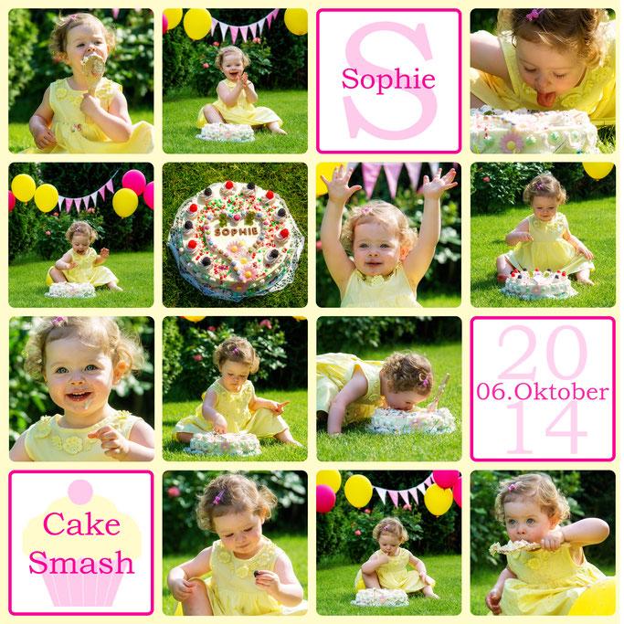 Cake Smash, Sophie, 20 Monate alt