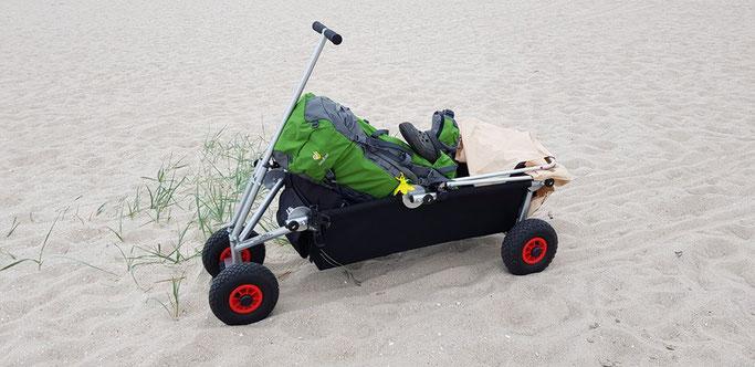 Bollerwagen Strandtauglich
