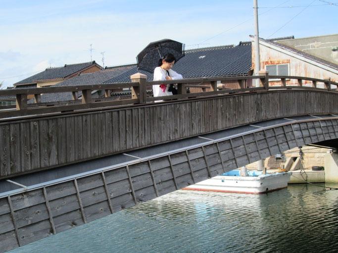 新湊(富山県)の橋で