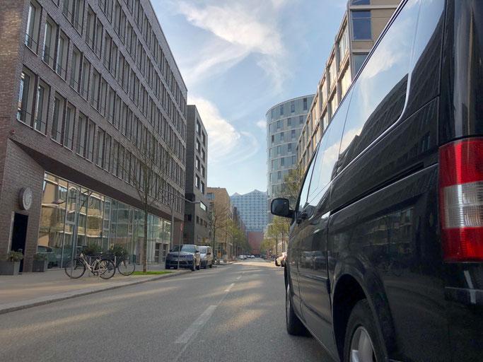 Bustour durch Hamburg