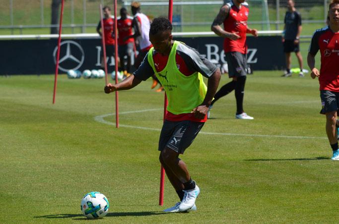 Green steht beim VfB vor dem Absprung. (Foto: eigene Aufnahme)