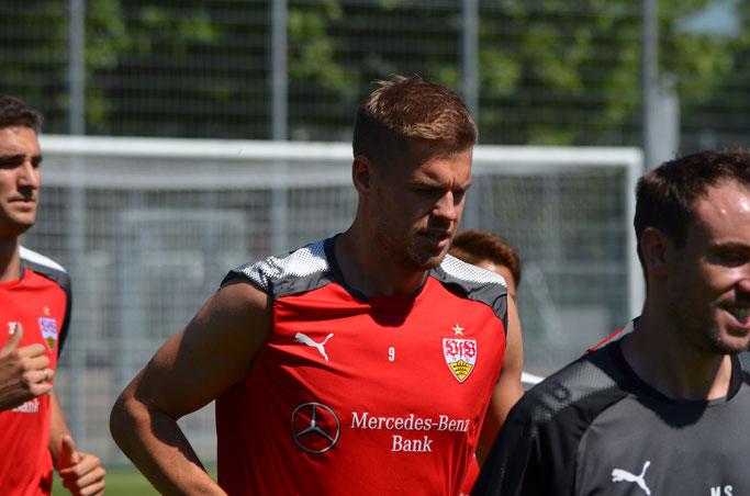 Terodde will sich jetzt auch endlich in der  ersten Bundesliga beweisen. (Foto: eigene Aufnahme)