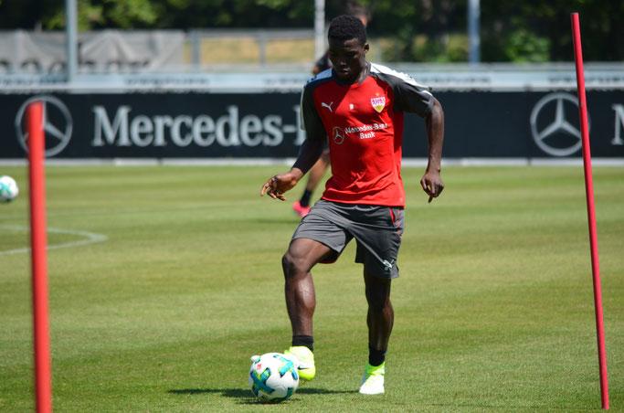 Sarpei darf den VfB offenbar per Leihe verlassen. (Foto: eigene Aufnahme)