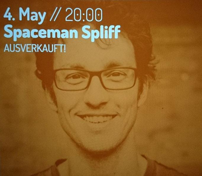 """Spaceman Spliff? Machst du dann so Reggae?"""