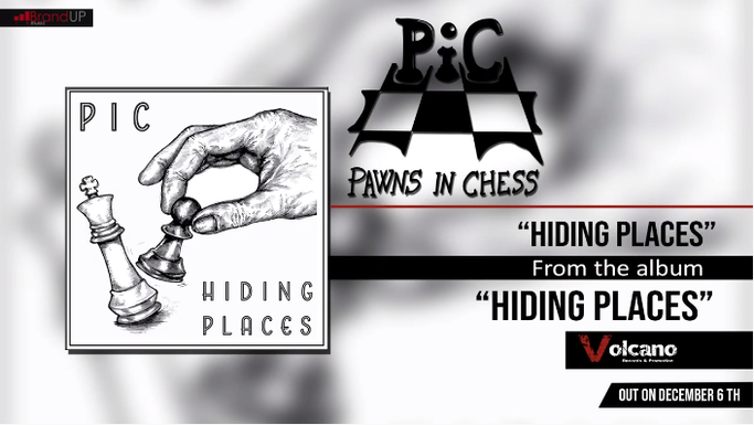 """Hiding Places"", the first single of PIC, rockers and other animals"