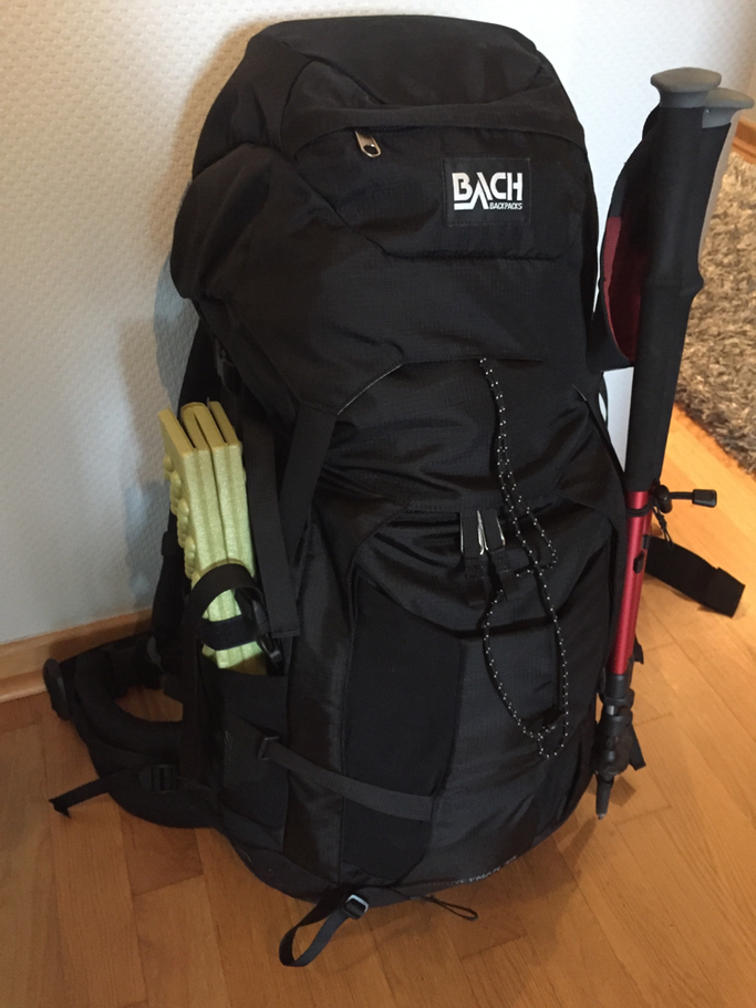 ..der gepackte Rucksack