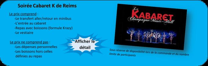 soirée cabaret K à Reims