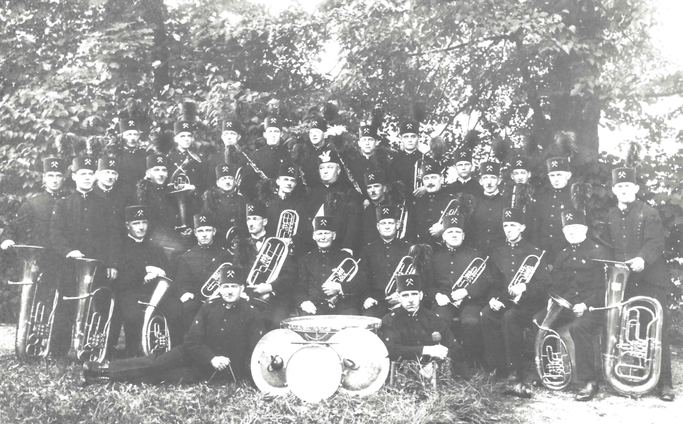 Bergwerkswohlfahrter Berghornistencorps 1935
