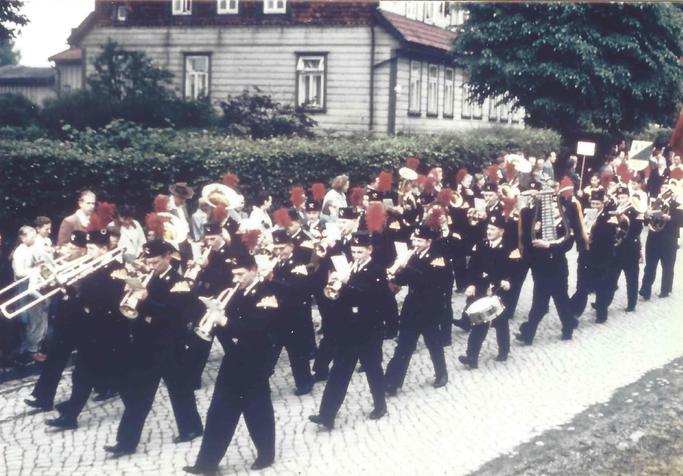 Heimattag in Clausthal-Zellerfeld 1958