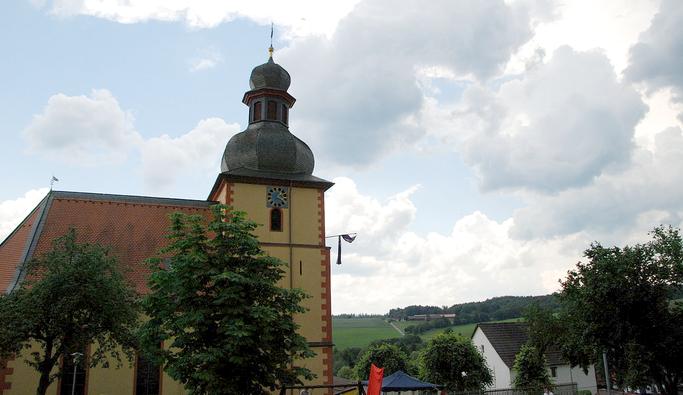 Evangelische Laurentiuskirche in Vielbrunn