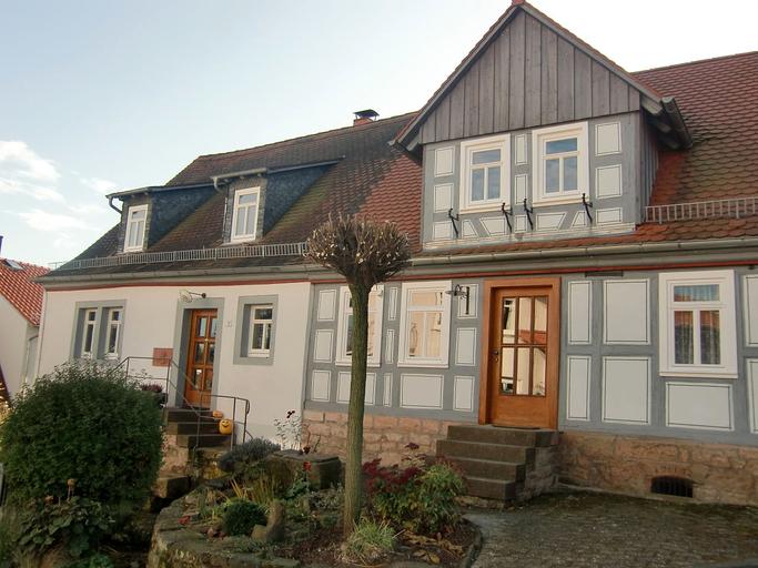 Die alte Oberförsterei in Vielbrunn
