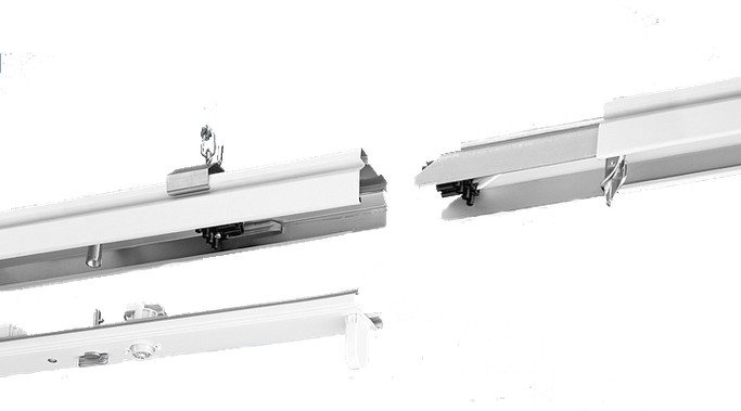 Rotasystem TR Lichtband Tragschinensystem T8 LED