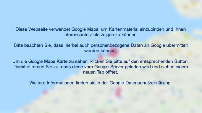 Zeebrügge Karte, Stadtplan