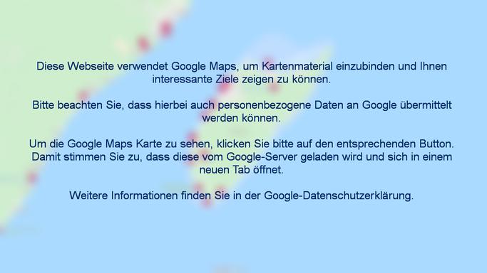 Cozumel Karte, Stadtplan