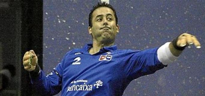 Antonio Nuñez Celda en uno de los circuitos Bancaixa.