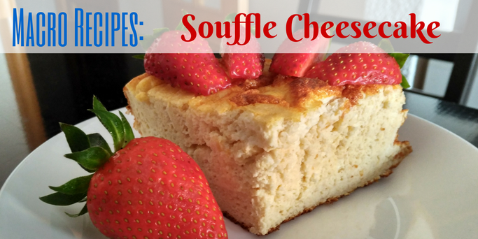 Low fat, low sugar, high protein, japanese style souffle cheesecake