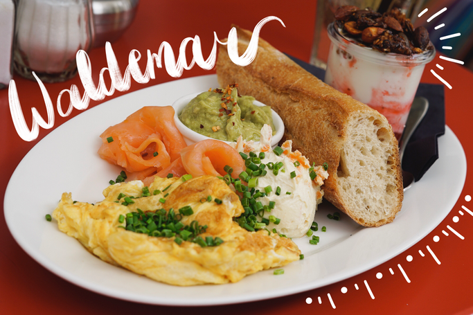 Waldemar Tagesbar Soho Manhattan Frühstück