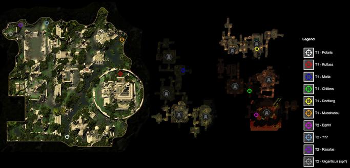 Lost city of Omu - Hunt locations - Saint of Hope