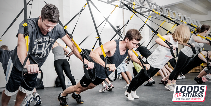 TRX Trainingen in Bunschoten bij Loods of Fitness Bunschoten Spakenburg