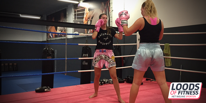 Kickboks trainingen voor dames in Bunschoten bij Loods of Fitness Bunschoten Spakenburg