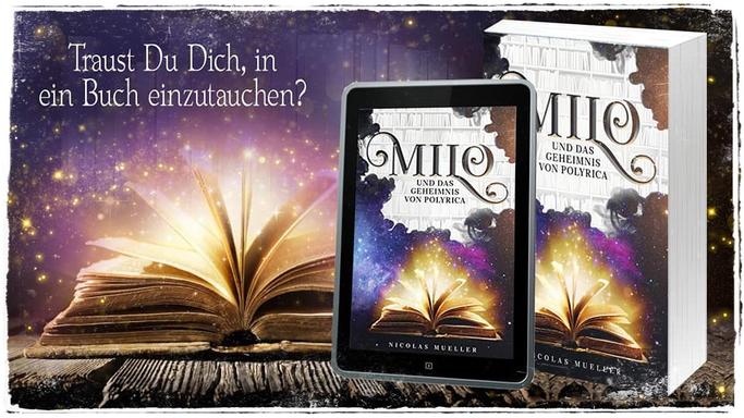 """Blogtour zum Buch """"Milo und das Geheimnis von Polyrica"""" von Nicolas Mueller"""