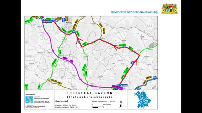 Quelle: Bayerisches Straßeninformationssystem