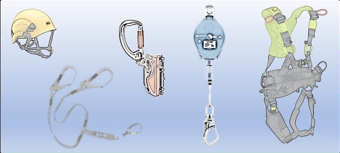 Sicherheit auf allen Ebenen: PSAgA, Höhensicherungsgeräte, Absturzsicherungen