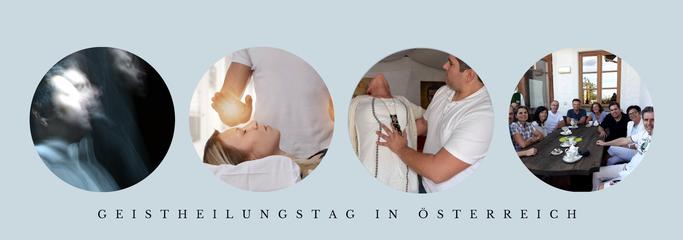 Geistheilungstag in Österreich, Energetiker, Geistheiler, Heiler, Jesus Lopez, Kundalinienergie, Blockadenlösung