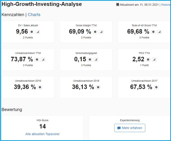 Detailbetrachtung der High-Growth-Strategie im Aktien.Guide
