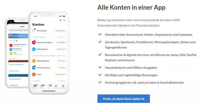 Outbank App: Alle Konten und Depots in einer App sehen