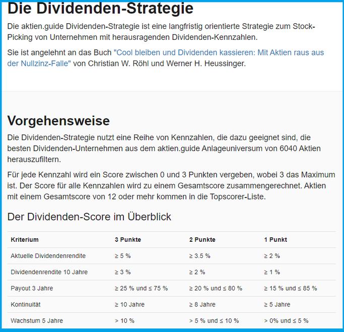 Die Dividenden-Stragie: Was ist das eigentlich?  AktienGuide?