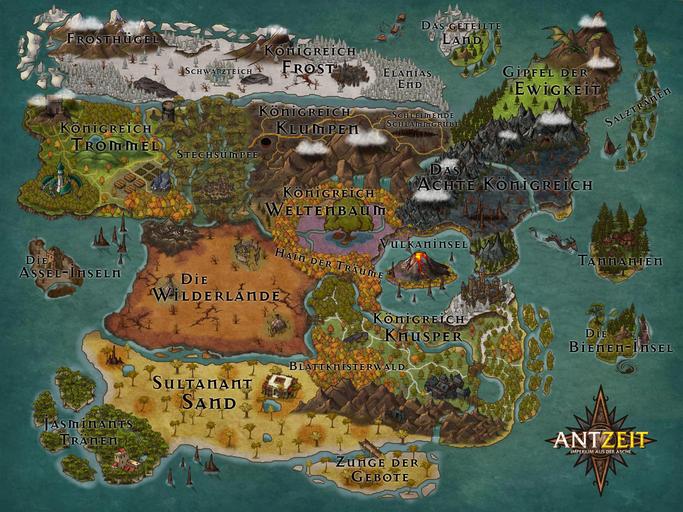 Antzeit Weltkarte