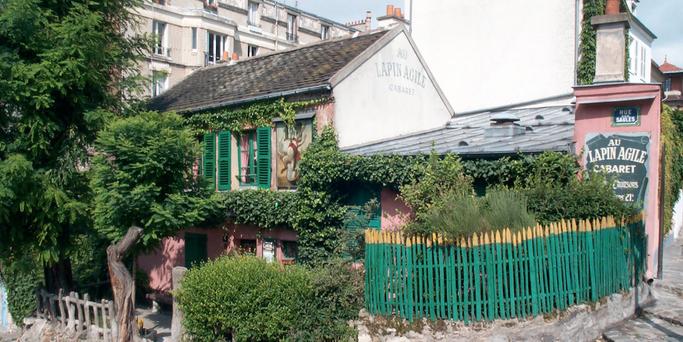 Au Lapin Agile in Montmartre