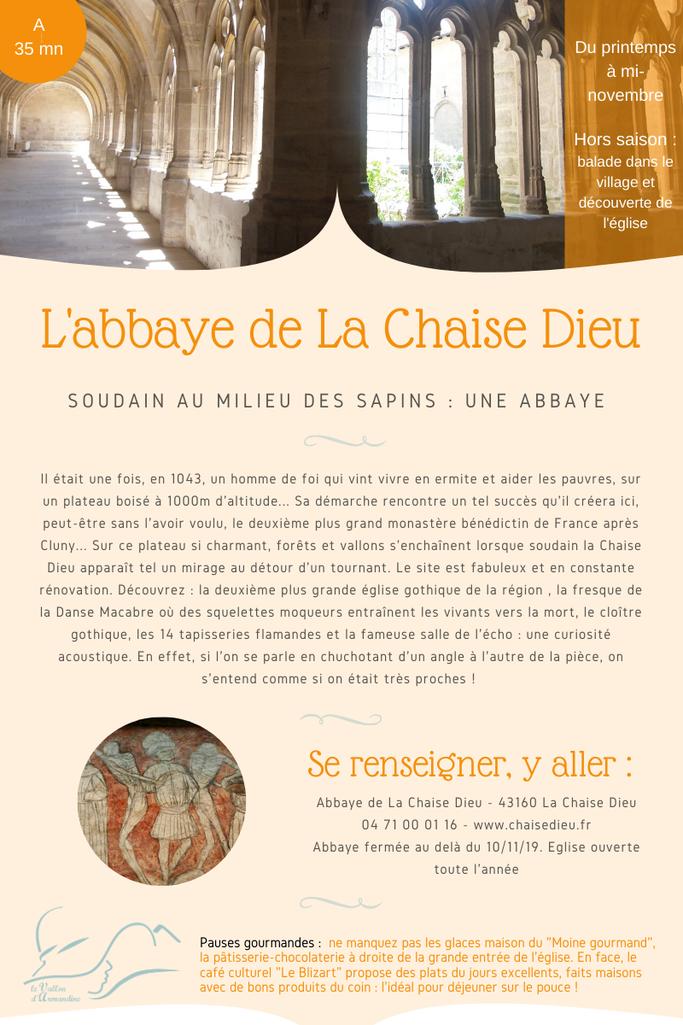 abbaye gothique en Auvergne
