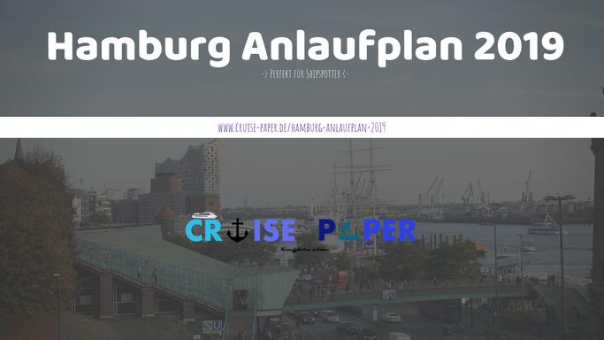Hamburg Anlaufplan 2019