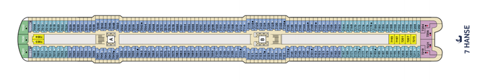 Mein Schiff 1 Deck 7 | © TUI Cruises