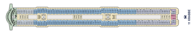 Mein Schiff 1 Deck 11 | © TUI Cruises