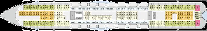 AIDAmar Deck 6 | © AIDA Cruises